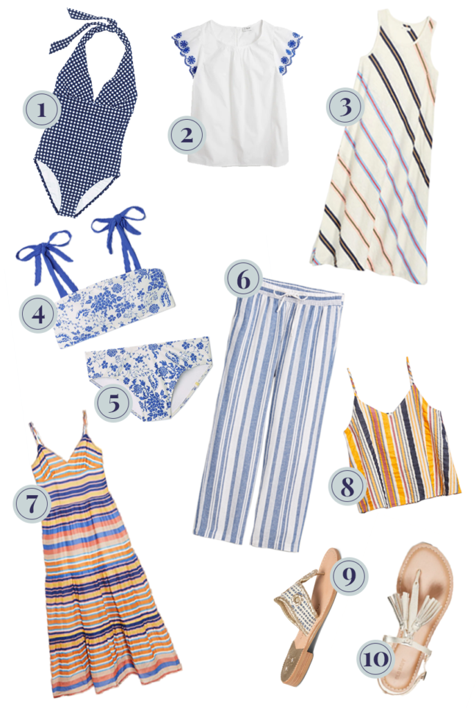 what to pack for santorini, what to wear to santorini, santorini vacation packing list, santorini fashion, santorini style, santorini preppy, stripes by the sea santorini